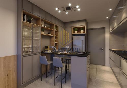 Imagem 1 de 10 de Apartamento 2 Dormitórios Para Venda Em Campinas, Botafogo, 2 Dormitórios, 1 Banheiro, 1 Vaga - Blue Hous_1-1829580