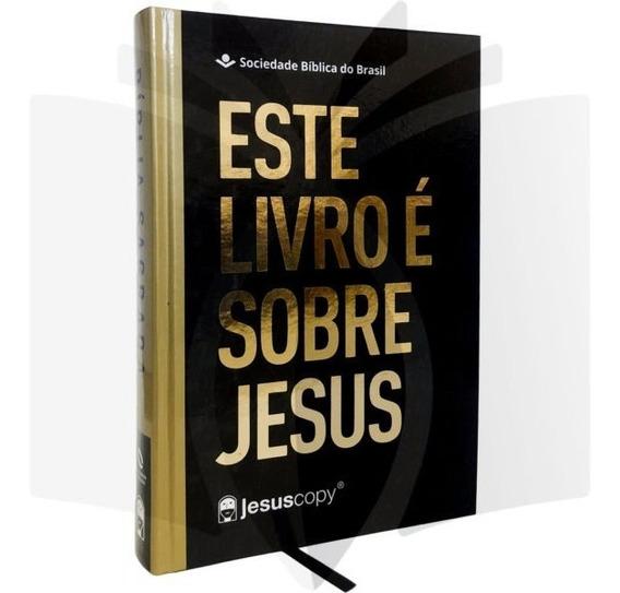 Bíblia Esuscopy Este Livro É Sobre Jesus Naa Letra Grande