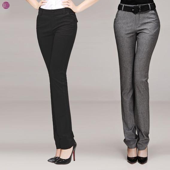 Pantalón Dama Vestir Ejecutivo Oferta Pantalón Gabardina