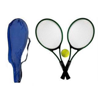 4 Kit Com 2 Raquetes De Tênis Acompanha 1 Bola De Tênis