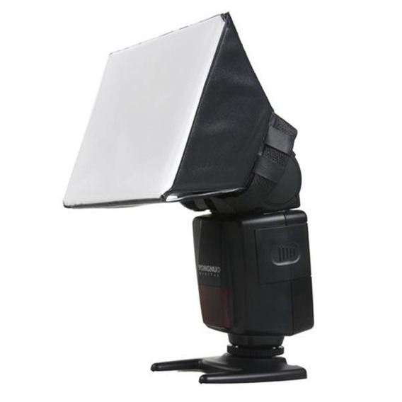 Difusor Universal P/ Flash Canon, Nikon, Yongnuo, Sony