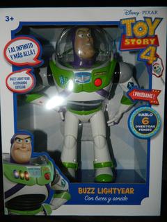 Toy Story 4 Buzz Lightyear Con Luz Y Sonidos