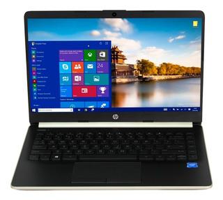 Laptop Hp Intel Dual Core N4000 4gb Ssd 64gb 14 Wifi Win10