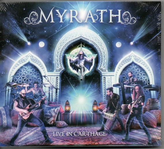 Cd + Dvd Myrath Live In Carthage Digipack