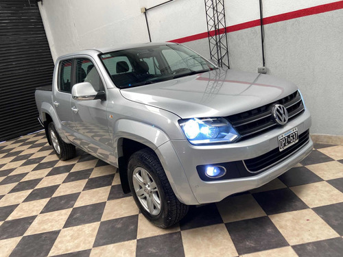 Amarok Highline Pack 4x2 2015 Titular Impecable Permuto
