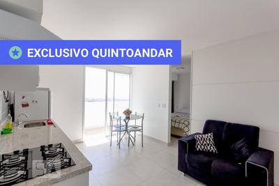 Studio No 21º Andar Mobiliado Com 1 Dormitório E 1 Garagem - Id: 892932650 - 232650