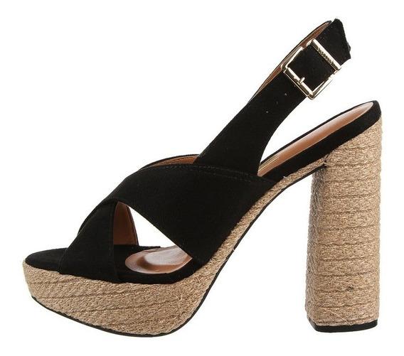 Sandalias Negras Vizzano