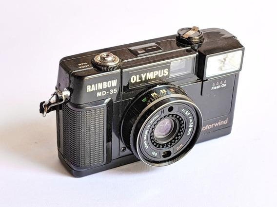 Antiga Camera Fotografica Olympus Rainbow Md35