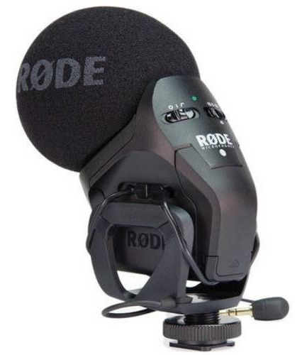 Microfone Para Dslr - Rode Stereo Videomic Pro Rycote