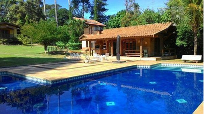 Chácara Residencial À Venda, Iate Clube De Campinas, Americana. - Ch0008