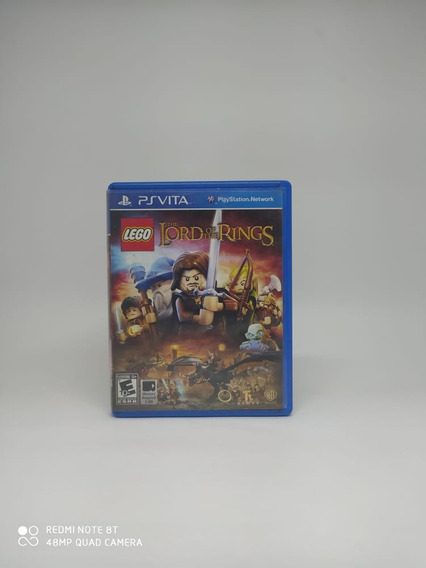 Jogo-psvita-the Lord Of The Rings Lego
