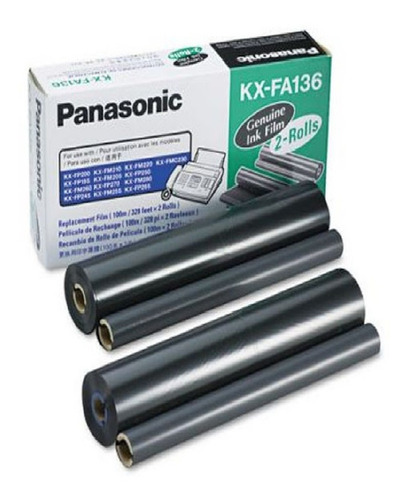 Film Panasonic Kx-fa136a Original Panasonic Doble