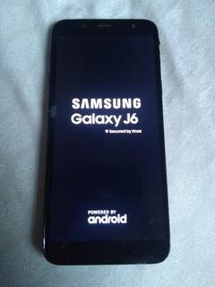 Celular Samsung Galaxy J6 32gb Preto J600 (ler Descrição)