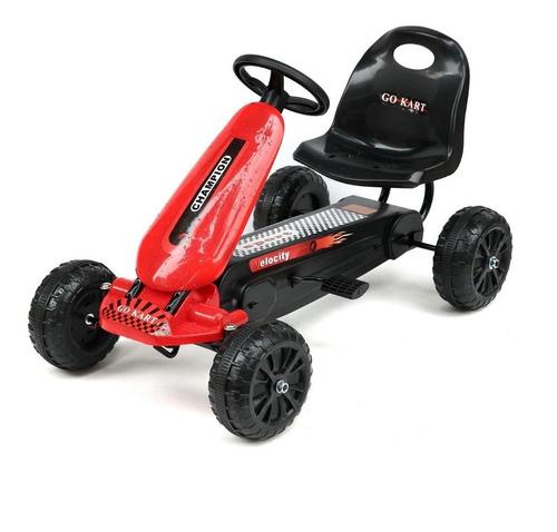 Auto A Pedal Cuatriciclo Buggy Kart Para Niño