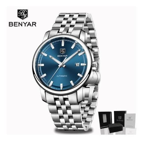 Relógio - Automático - Benyar - Original - Em Estoque