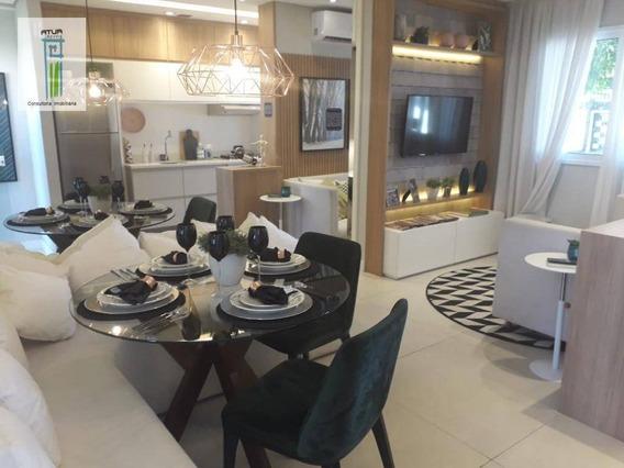 Apartamento Com 2 Dormitórios À Venda, 41 M² Por R$ 265.200,00 - Vila Nova Cachoeirinha - São Paulo/sp - Ap0769