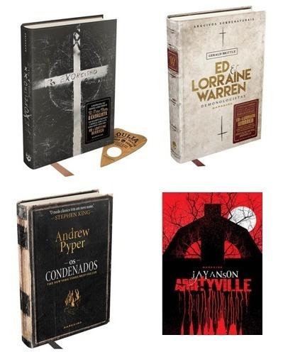 Exorcismo + Ed Lorraine + Os Condenados + Amityville Darksid