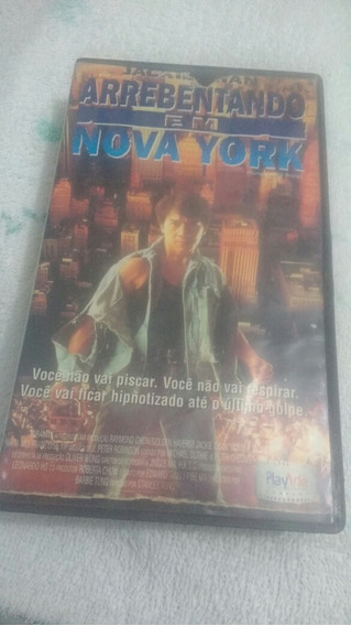 Jack Chan Arrebentando Em Nova York Original Vhs