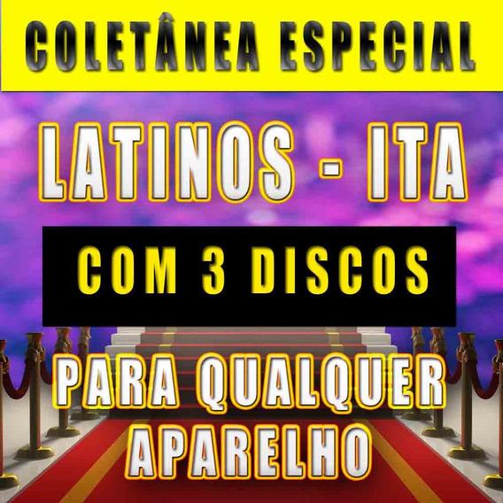 3 Dvd Top Karaokê Música Latina + Italianas - Só Sucessos!