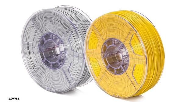 Filamento 3d 1,75 Mm - 2 Kg - Combo Promoção Pla + Pla