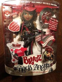 Bratz Rock Angelz Sasha Edición De Coleccionista Doll Rare