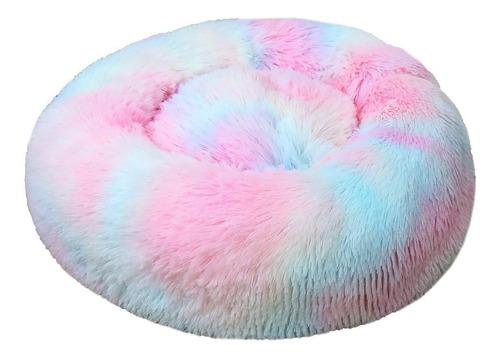 Cama Dona Para Mascota/ Arcoiris Y Colores Degradados