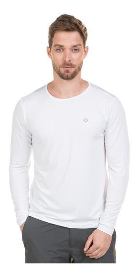 Camiseta Masculina Com Proteção Solar Manga Longa Extreme Uv