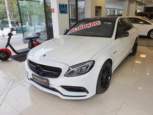 Mercedes-benz C 63 Amg 4.0 V8 Turbo S Gasolina Sedan 4p