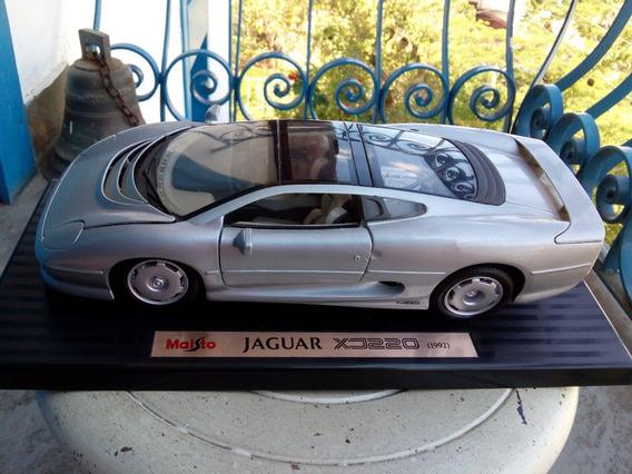 Jaguar Xj220 - 1992 Carro Miniatura 1/18