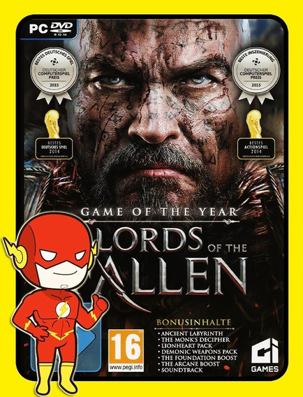 Lords Of The Fallen Pc - Steam Key (envio Flash)