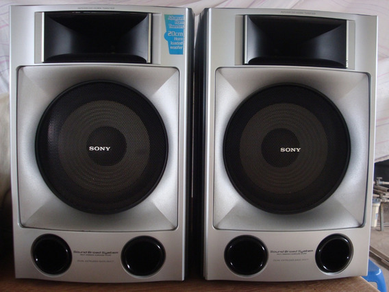 5 Caixas Acústicas Da Sony