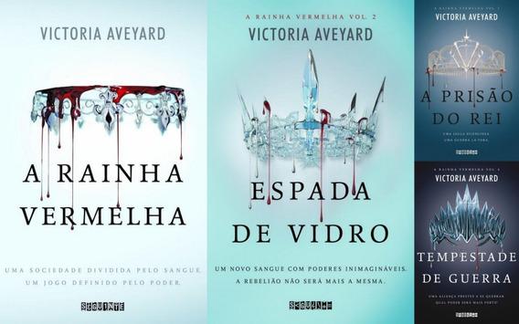 Coleção A Rainha Vermelha 4 Livros Victoria Aveyard