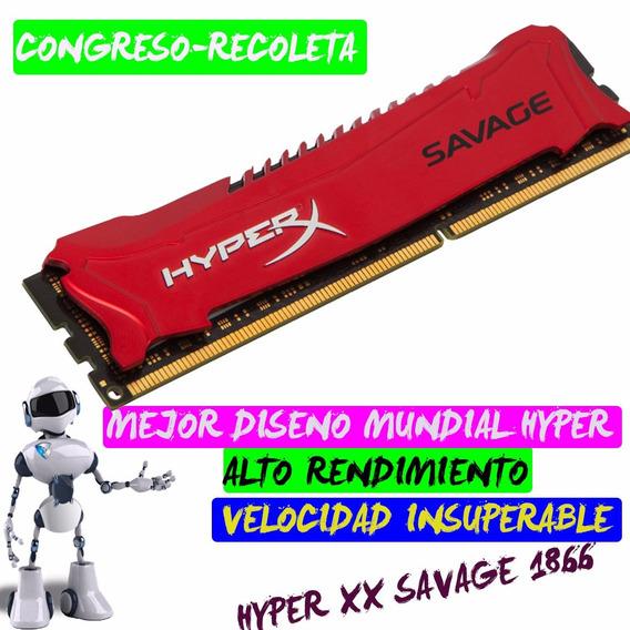 Memoria Ram Hyperx Savage 4gb Ddr3 1866 Mhz Retiro