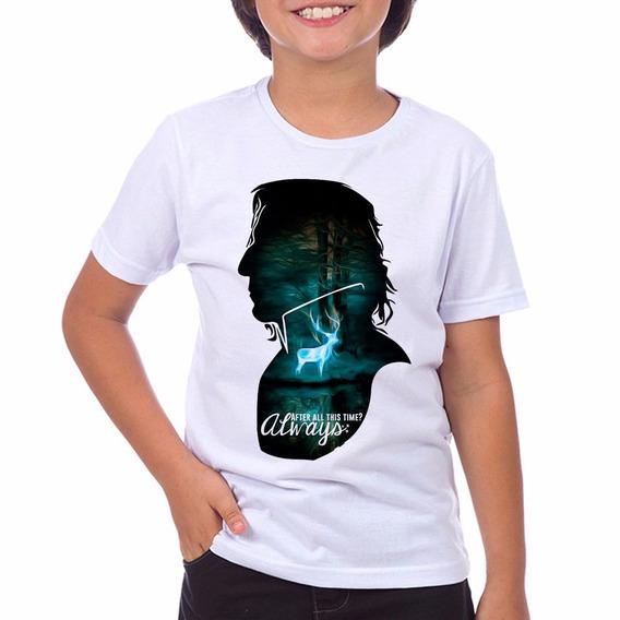 Camiseta Infantil Always Harry Potter Hp Do Tam: 2 Ao 12