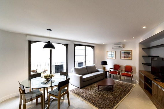 Apartamento No 12º Andar Mobiliado Com 1 Dormitório E 1 Garagem - Id: 892971522 - 271522