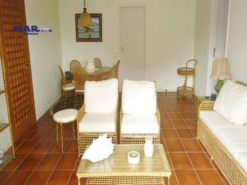 Imagem 1 de 14 de Apartamento Residencial À Venda, Barra Funda, Guarujá - . - Ap9375