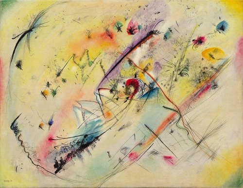 Poster Grande Hd 65x90cm Kandinsky Foto Obra  Imagem Leve