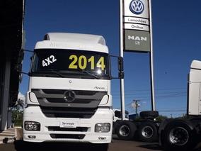 Mercedes Benz Axor 2041 4x2 Toco Canelinha Ano 2014