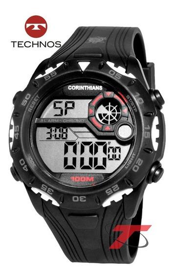 Relógio Technos Do Corinthians Cor1360/8p