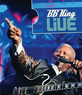 Blu-ray B. B. King Live - Imperdível !! Lacrado !!