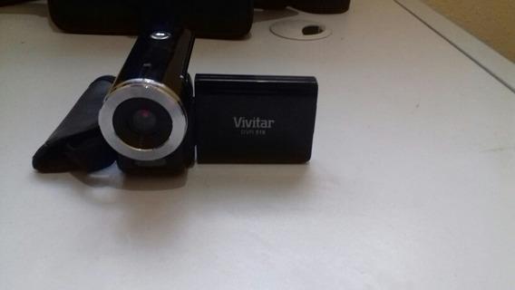 Filmadora Digital Vivitar Dvr-518bk Preta C/ 5.1mp, Lcd 2,0