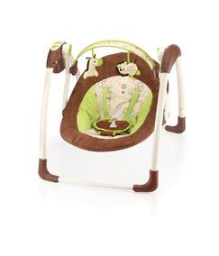 Cadeira De Balanço Automático Com Fonte