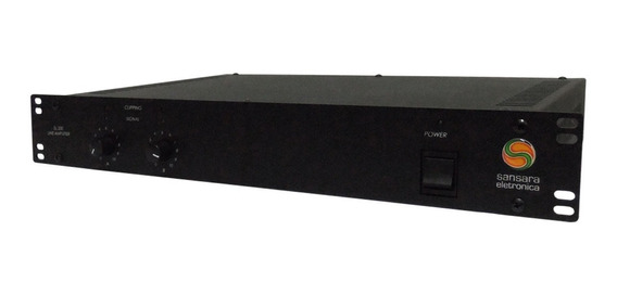 Amplificador De Linha Mono / Estéreo 200w Sl 200 - Sansara