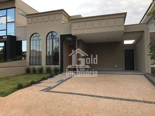 Imagem 1 de 6 de Casa Com 3 Dormitórios À Venda, 147 M² Por R$ 710.000 - Recreio Das Acácias - Ribeirão Preto/sp - Ca1975