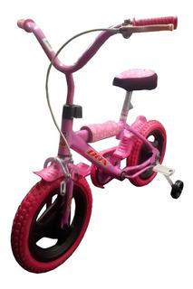 Bicicleta Rodado 12 Economica Freno Protecciones Reforzadas