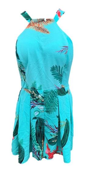 Promoção Macaquinho Feminino Floral Costa Nua 04 Verao