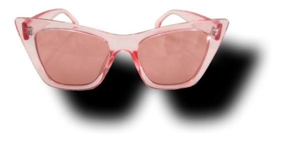Lentes Rosa Solares Gafa Mujer Retro Sunglasses Urban Beach