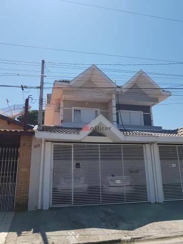 Sobrado Com 3 Dormitórios À Venda, 116 M² Por R$ 545.000,00 - Jardim Alvorada - São José Dos Campos/sp - So0076