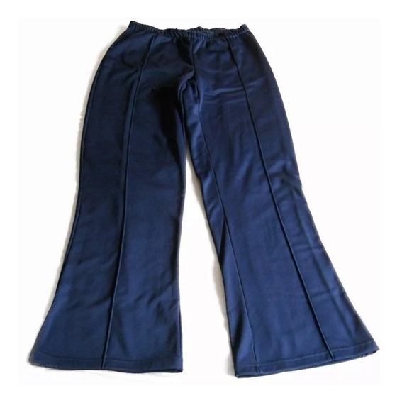 Pantalon Jogging Mujer Azul Medio Oxford Nuevo T. 3