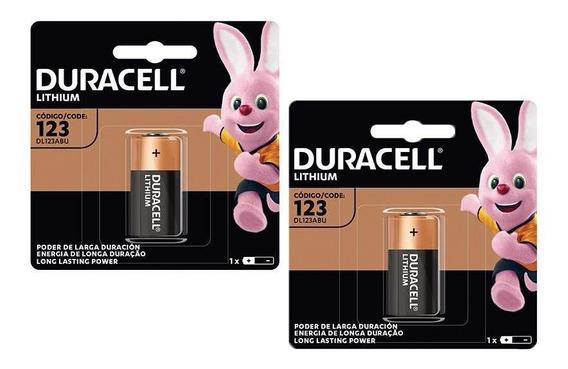 Kit Pilhas Cr123 Duracell - Desfibrilador Dea Zoll 2 Uni